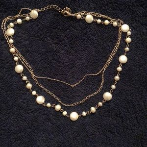 American eagle layered necklace